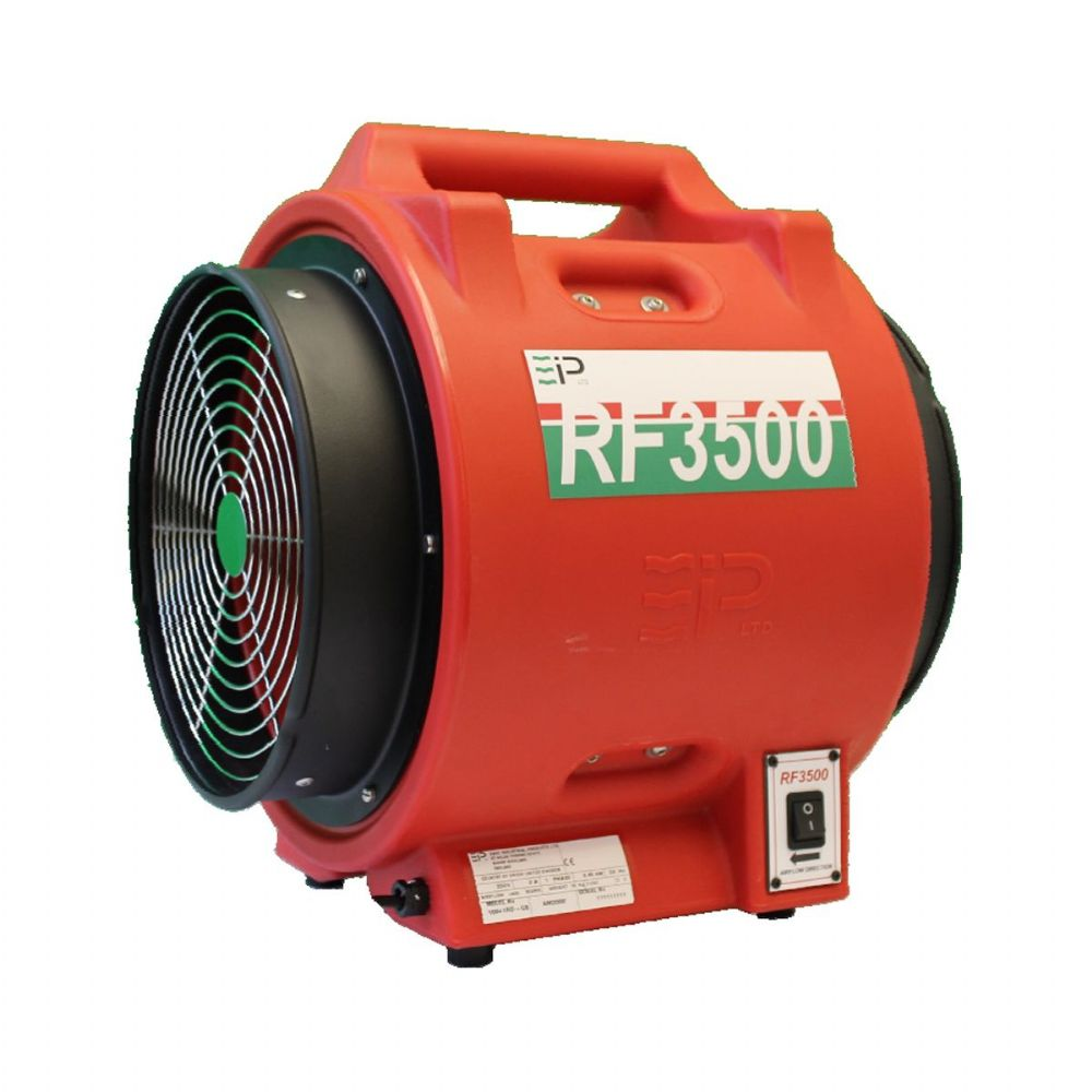Ebac RF3500 10965RB-GB Power Fan Heavy Duty Power Extractor Ventilator 3500m3/hr 110V~50Hz